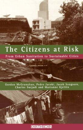 The Citizens at Risk: From Urban Sanitation to Sustainable Cities, 1st Edition (Paperback) book cover