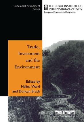Trade Investment and the Environment book cover