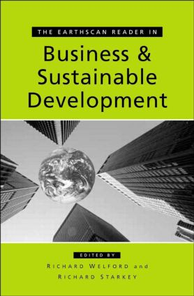 The Earthscan Reader in Business and Sustainable Development book cover