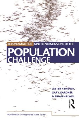 Beyond Malthus: The Nineteen Dimensions of the Population Challenge (Paperback) book cover