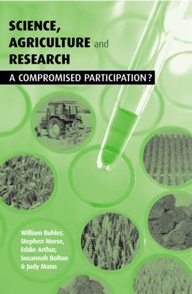 Science Agriculture and Research: A Compromised Participation, 1st Edition (Paperback) book cover