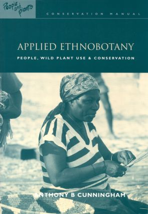 Applied Ethnobotany: People, Wild Plant Use and Conservation book cover