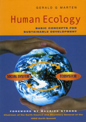 Human Ecology: Basic Concepts for Sustainable Development book cover