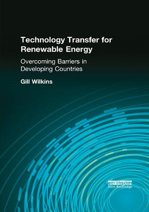 Technology Transfer for Renewable Energy: 1st Edition (Paperback) book cover