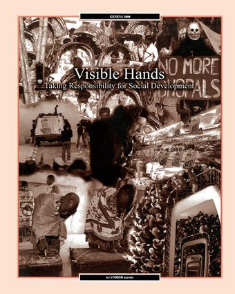 Visible Hands: Taking Responsibility for Social Development book cover