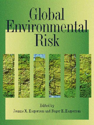 Global Environmental Risk: 1st Edition (Paperback) book cover