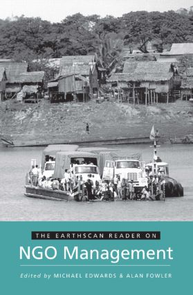 The Earthscan Reader on NGO Management book cover