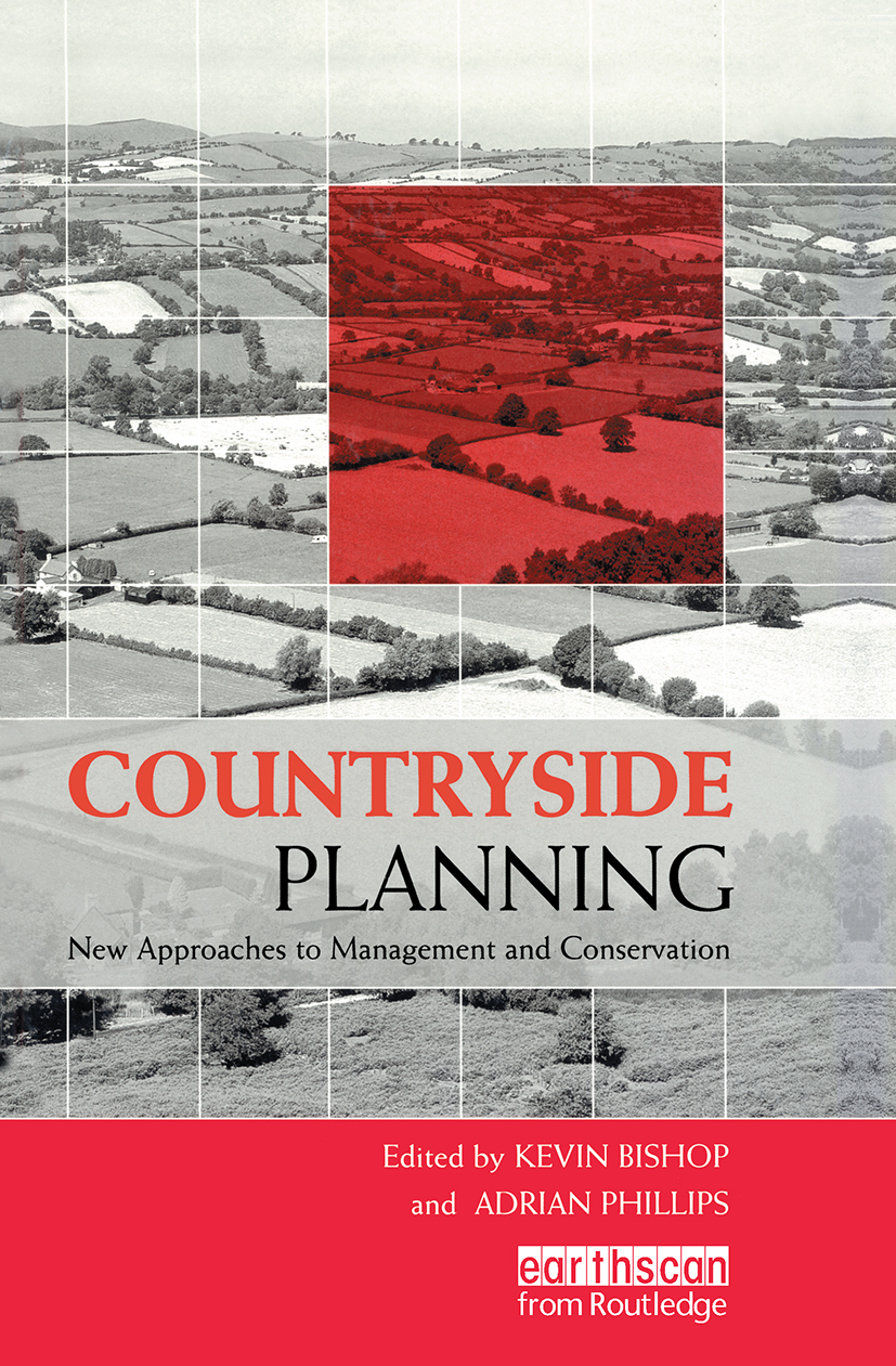Countryside Planning: New Approaches to Management and Conservation, 1st Edition (Paperback) book cover