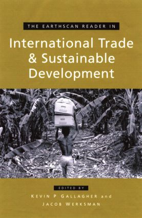 The Earthscan Reader on International Trade and Sustainable Development book cover