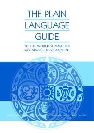 The Plain Language Guide to the World Summit on Sustainable Development: 1st Edition (Paperback) book cover