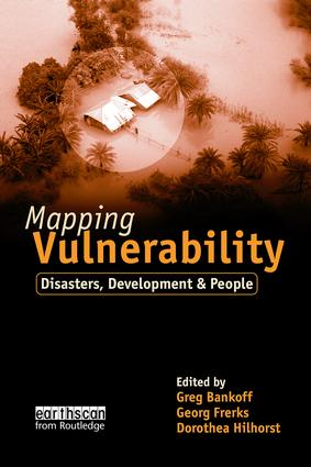 Mapping Vulnerability: Disasters, Development and People (Paperback) book cover