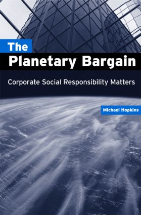 The Planetary Bargain: Corporate Social Responsibility Matters (Paperback) book cover