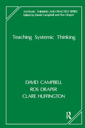Teaching Systemic Thinking: 1st Edition (Paperback) book cover