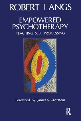 Empowered Psychotherapy: Teaching Self-Processing book cover