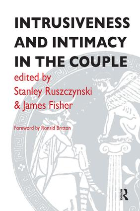Intrusiveness and Intimacy in the Couple: 1st Edition (Paperback) book cover