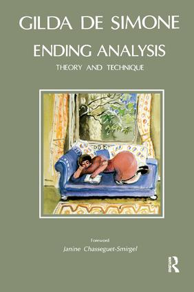 Ending Analysis: Theory and Technique, 1st Edition (Paperback) book cover