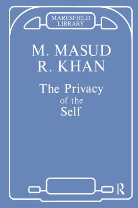 The Privacy of the Self: 1st Edition (Paperback) book cover