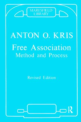 Free Association: Method and Process, 1st Edition (e-Book) book cover