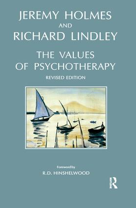 The Values of Psychotherapy: 1st Edition (Paperback) book cover