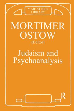 Judaism and Psychoanalysis: 1st Edition (Paperback) book cover