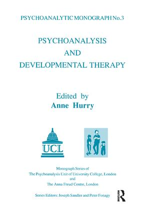 Psychoanalysis and Developmental Therapy: 1st Edition (Paperback) book cover