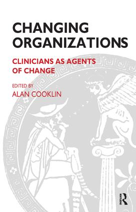 Changing Organizations: Clinicians as Agents of Change, 1st Edition (Paperback) book cover