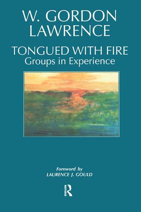 Tongued with Fire: Groups in Experience book cover
