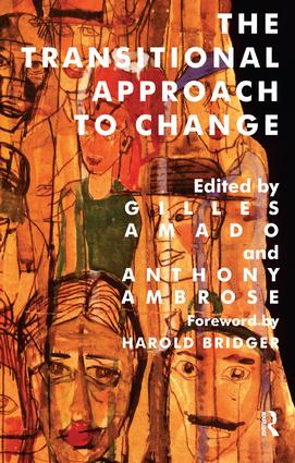 The Transitional Approach to Change: 1st Edition (Paperback) book cover