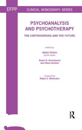 Psychoanalysis and Psychotherapy