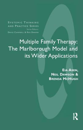 Multiple Family Therapy: The Marlborough Model and Its Wider Applications, 1st Edition (Paperback) book cover