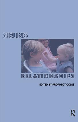 Sibling Relationships: 1st Edition (Paperback) book cover