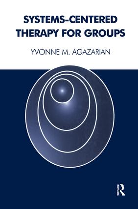 Systems-Centered Therapy for Groups: 1st Edition (Paperback) book cover