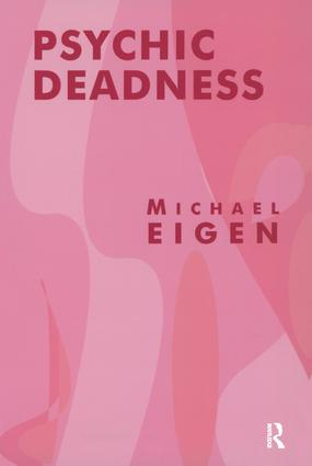 Psychic Deadness: 1st Edition (Paperback) book cover
