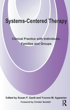 Systems-Centered Therapy: Clinical Practice with Individuals, Families and Groups, 1st Edition (Paperback) book cover
