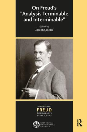 On Freud's Analysis Terminable and Interminable: 1st Edition (Paperback) book cover