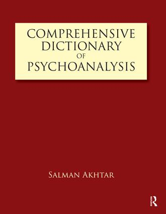 Comprehensive Dictionary of Psychoanalysis: 1st Edition (Paperback) book cover
