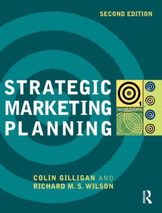 Strategic Marketing Planning: 2nd Edition (Paperback) book cover