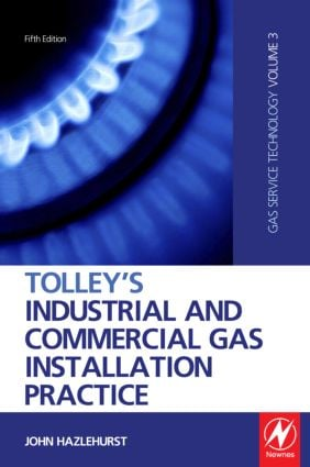 Tolley's Industrial and Commercial Gas Installation Practice book cover