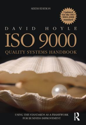 ISO 9000 Quality Systems Handbook - updated for the ISO 9001:2008 standard: 6th Edition (Paperback) book cover