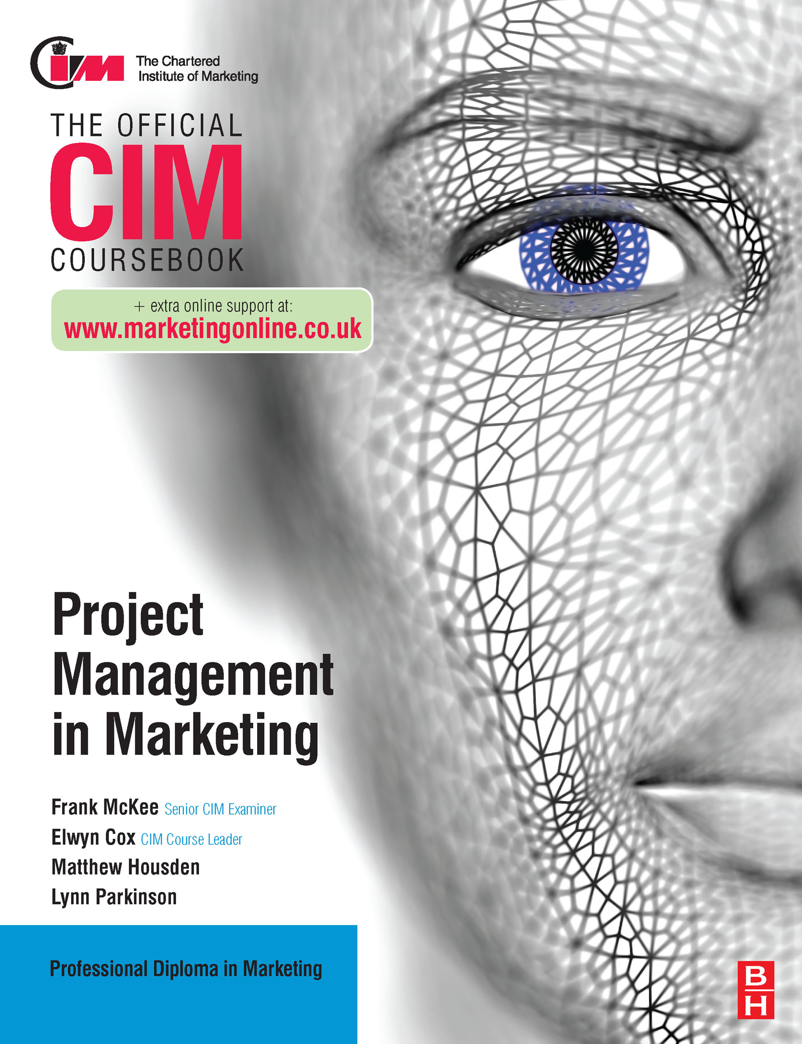 CIM Coursebook: Project Management in Marketing (Paperback) book cover