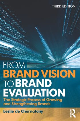 From Brand Vision to Brand Evaluation: 3rd Edition (Paperback) book cover
