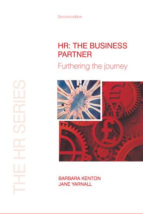 HR: The Business Partner: 2nd Edition (Paperback) book cover