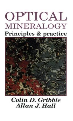 Optical Mineralogy: Principles And Practice, 1st Edition (Paperback) book cover