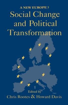 Social Change And Political Transformation: A New Europe? (Paperback) book cover
