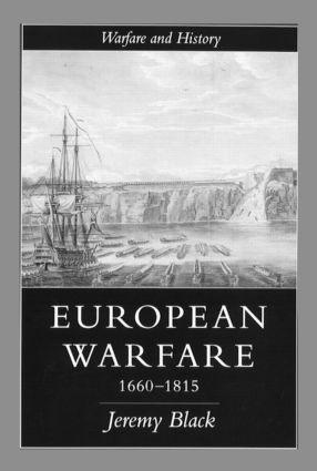 European Warfare, 1660-1815 (Paperback) book cover