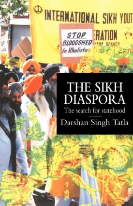 The Sikh Diaspora: The Search For Statehood book cover