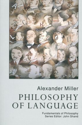 Philosophy Of Language (Paperback) book cover