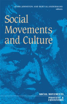 Social Movements And Culture: 1st Edition (Paperback) book cover