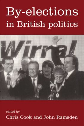 By-Elections In British Politics (Paperback) book cover