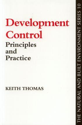 Development Control book cover